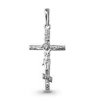 Крест серебро Прямой