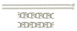 Браслет серебро Лав d040 полновес