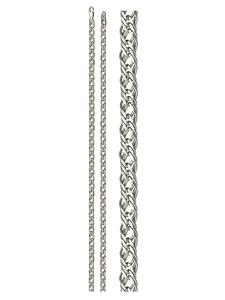 Цепь серебро Ромб Тройной d050 полновес