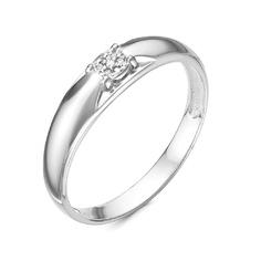 Кольцо серебро Фантазия бриллианты