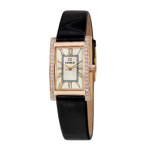 Часы Nika LADY золото ремень черный 14 мм