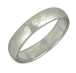 Кольцо серебро Дорожка фианиты