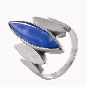 Кольцо серебро Геометрия агат