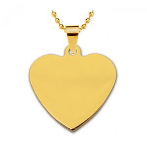 Жетон золотая сталь Сердце