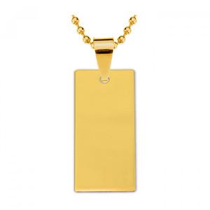 Жетон золотая сталь Прямоугольник