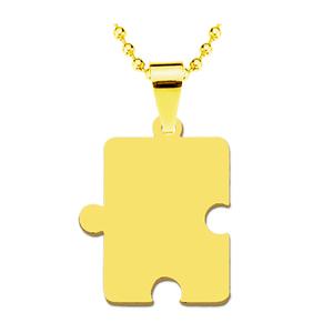 Жетон золотая сталь Пазл