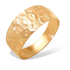 Кольцо красное золото Алм. Грань