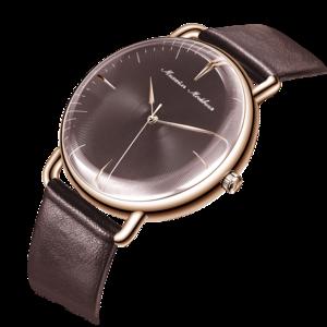 Часы MIKHAIL MOSKVIN  кварцевые ремень коричневый