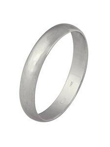 Кольцо серебро гладкое