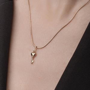 Цепь красное золото Снейк d025 полновес