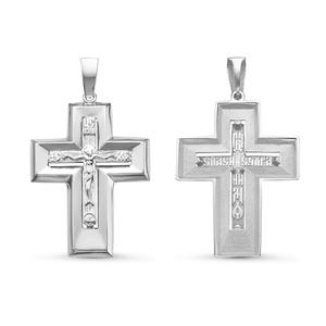 Крест серебро Классический