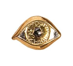 Сувенир серебро Глаз золочение