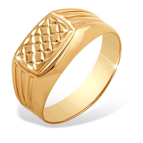 Печатка красное золото Прямоугольник